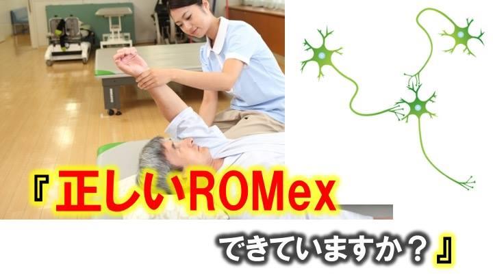 ROMexの正しい方法